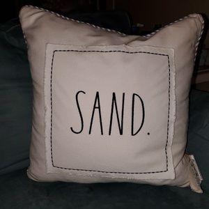 SAND Rae Dunn Pillow Nautical